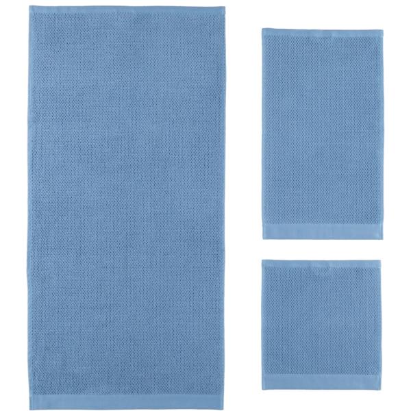 Rhomtuft - Handtücher Baronesse - Farbe: aqua - 78
