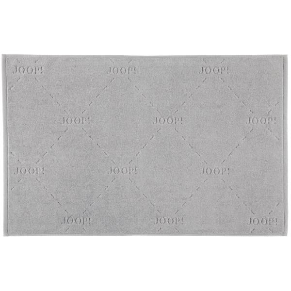 JOOP! Badematte Dash 73 - Farbe: Silber - 026 55x85 cm
