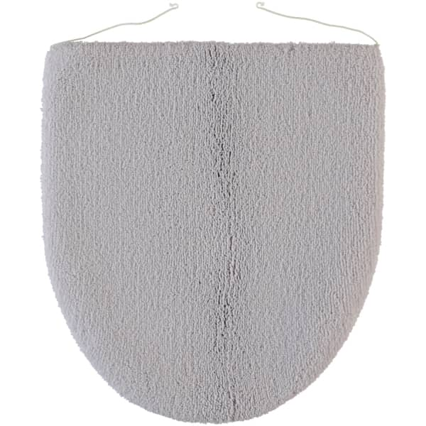 Rhomtuft - Badteppiche Aspect - Farbe: perlgrau - 11 Deckelbezug 45x50 cm