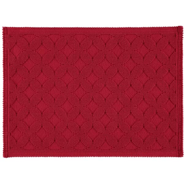 Rhomtuft - Badematte Seaside - Farbe: cardinal - 349 50x70 cm