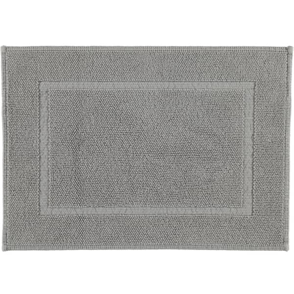 Rhomtuft - Badematte Pearl 51 - Farbe: kiesel - 85 50x70 cm