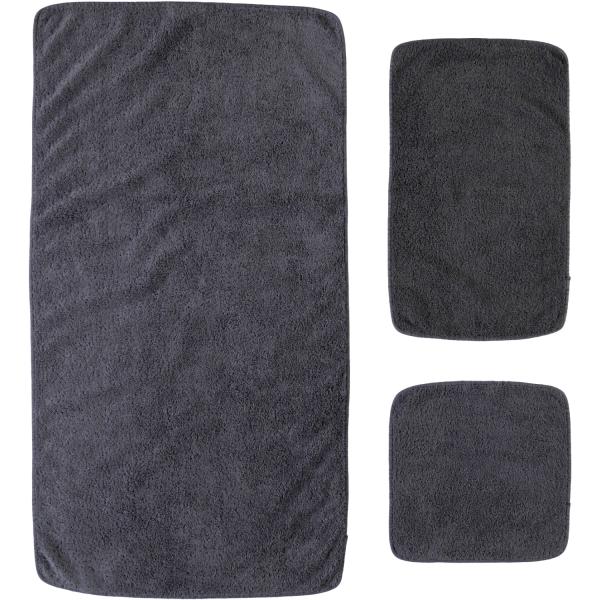 Rhomtuft - Handtücher Loft - Farbe: zinn - 02