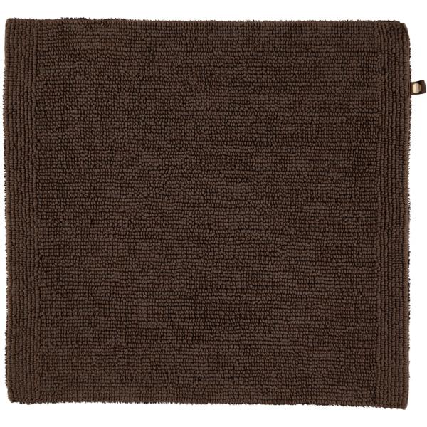 Rhomtuft - Badteppich Pur - Farbe: mocca - 406 60x60 cm