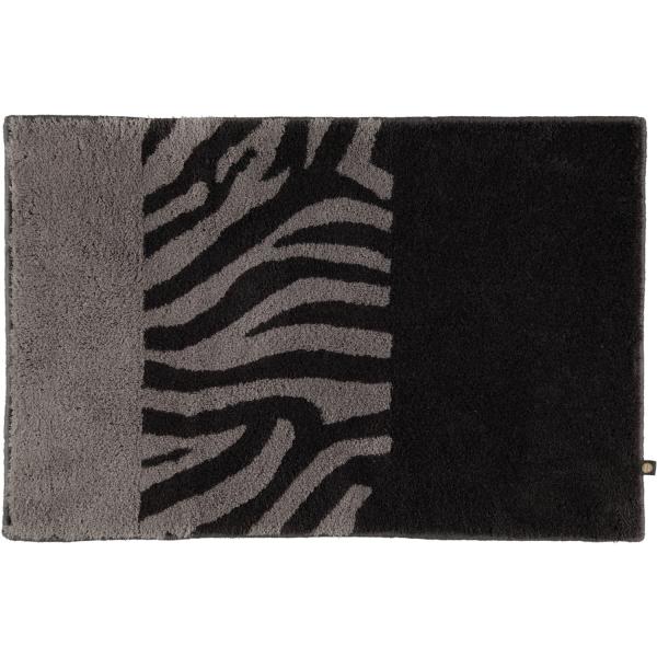 Rhomtuft - Badteppiche Zebra - Farbe: zink/kiesel - 1402 70x130 cm