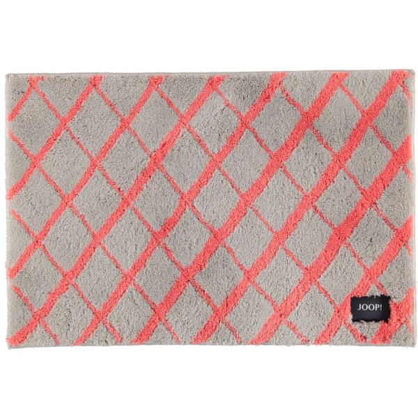 JOOP! Badteppich Diamond 143 - Farbe: Coral - 324 60x90 cm