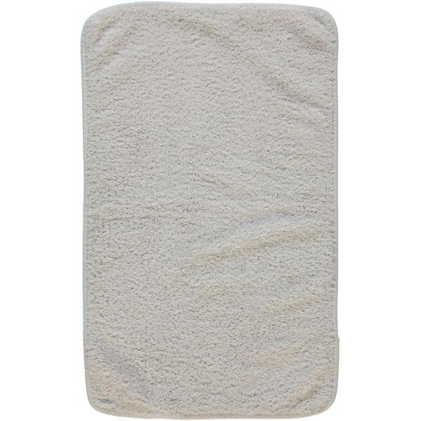 Rhomtuft - Handtücher Loft - Farbe: perlgrau - 11 Gästetuch 30x50 cm
