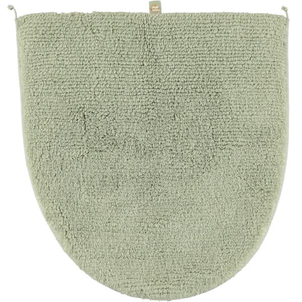 Rhomtuft - Badteppiche Prestige - Farbe: jade - 90 Deckelbezug 45x50 cm