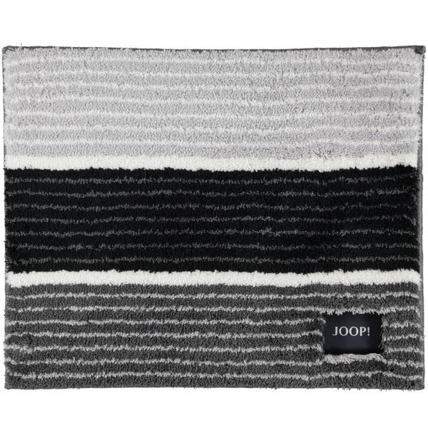 JOOP! Badteppich Lines 286 - Farbe: Anthrazit - 069 50x60 cm