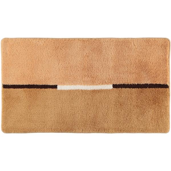 Rhomtuft RHOMY - Badteppich Mira 257 - Farbe: sand - 834 65x115 cm