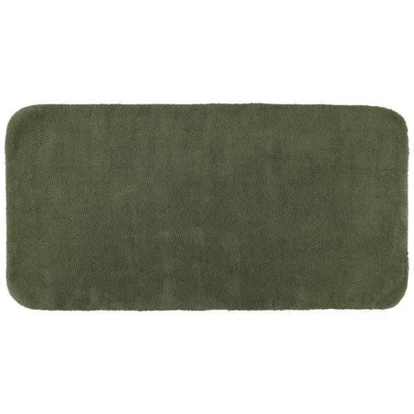 Rhomtuft - Badteppiche Aspect - Farbe: olive - 404 80x160 cm