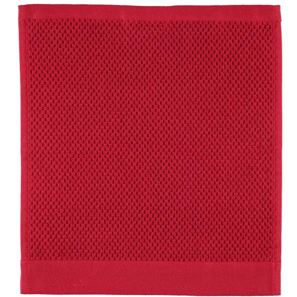 Rhomtuft - Handtücher Baronesse - Farbe: cardinal - 349 Seiflappen 30x30 cm