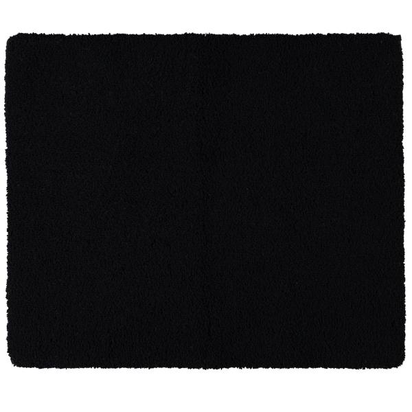 Rhomtuft - Badteppiche Square - Farbe: schwarz - 15 50x60 cm