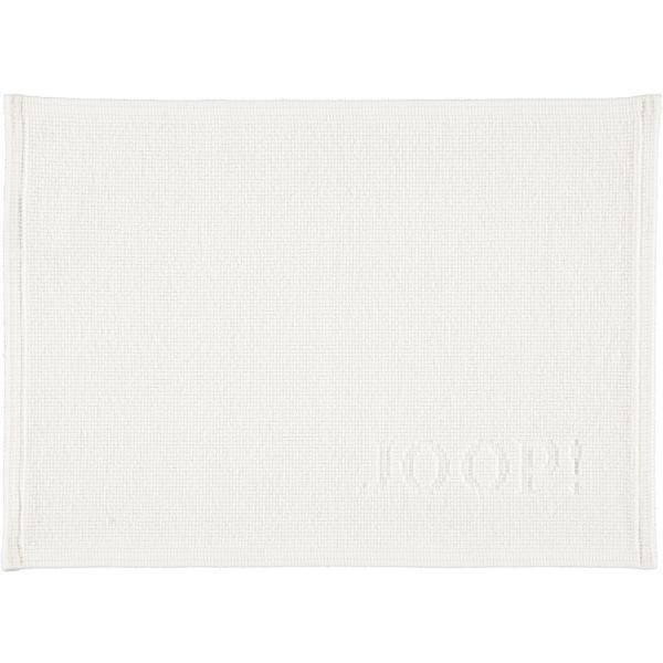 JOOP! Badematte Signature 49 - Farbe: Weiß - 001 50x70 cm