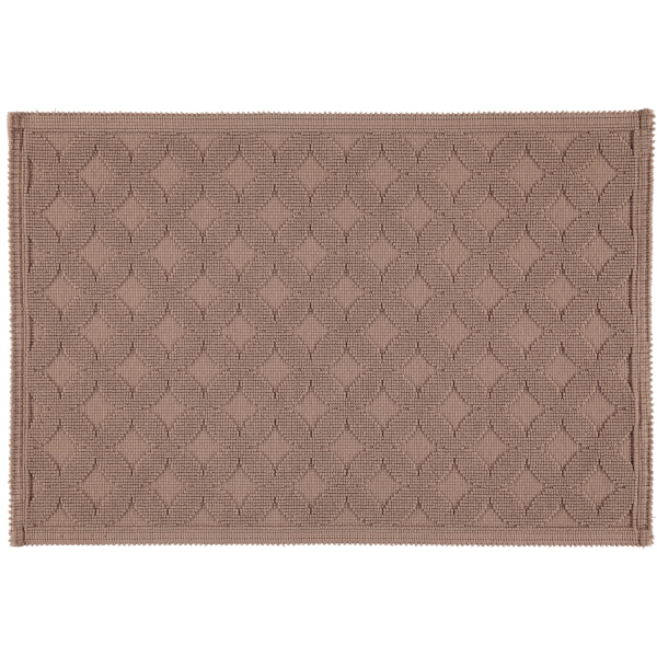 Rhomtuft - Badematte Seaside - Farbe: taupe -58 60x90 cm