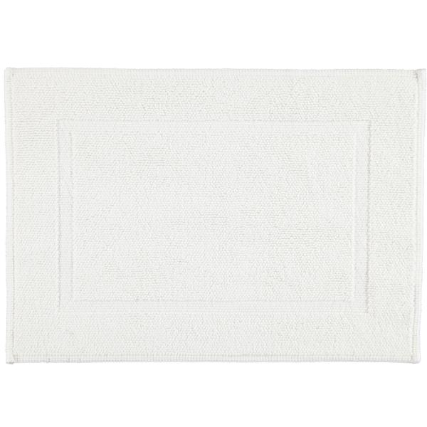 Rhomtuft - Badematte Pearl 51 - Farbe: weiß - 01 50x70 cm