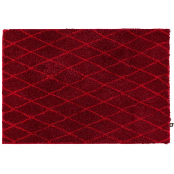 Rhomtuft - Badteppiche Rhom 87 - Farbe: cardinal/carmin - 1346 50x65 cm