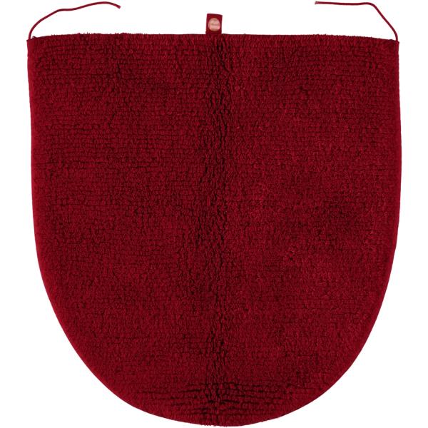 Rhomtuft - Badteppiche Prestige - Farbe: cardinal - 349 Deckelbezug 45x50 cm