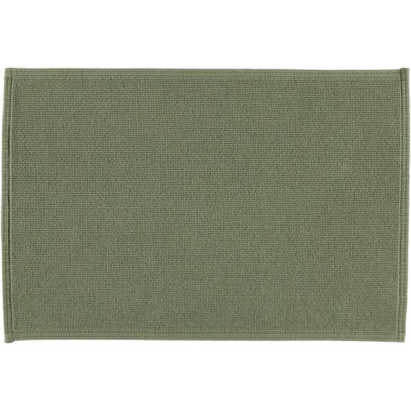 Rhomtuft - Badematte Plain - Farbe: olive - 404 60x90 cm