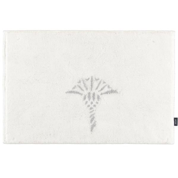 JOOP! Badteppich Cornflower 65 - Farbe: Weiß - 001 60x90 cm
