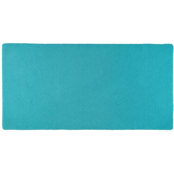 Rhomtuft - Badteppiche Square - Farbe: azur - 41 80x160 cm