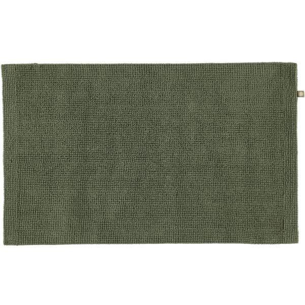 Rhomtuft - Badteppich Pur - Farbe: olive - 404