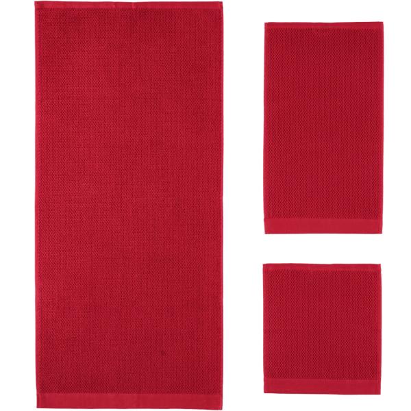 Rhomtuft - Handtücher Baronesse - Farbe: cardinal - 349
