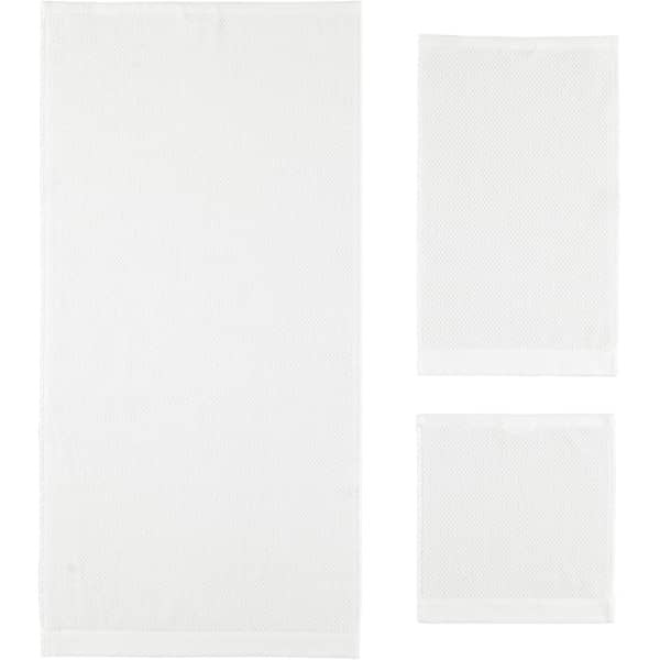 Rhomtuft - Handtücher Baronesse - Farbe: weiß - 01