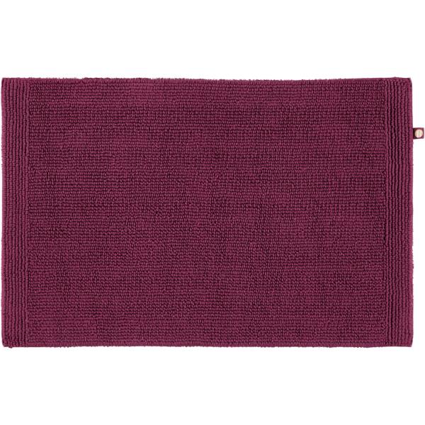 Rhomtuft - Badteppich Pur - Farbe: berry - 237 50x75 cm