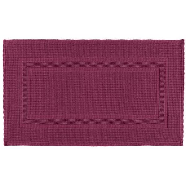 Rhomtuft - Badematte Gala - Farbe: berry - 237 70x120 cm