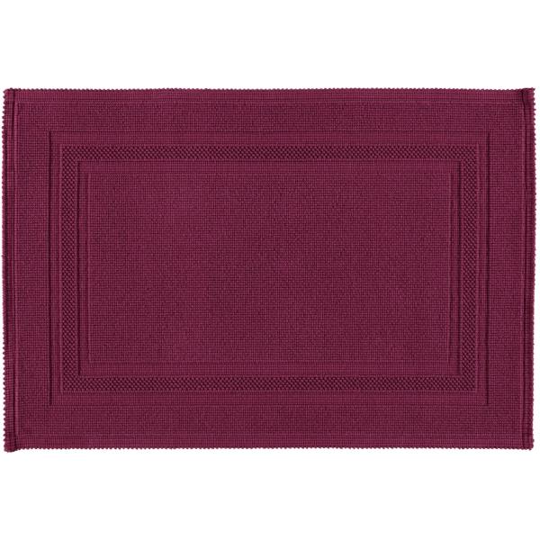 Rhomtuft - Badematte Gala - Farbe: berry - 237 60x90 cm