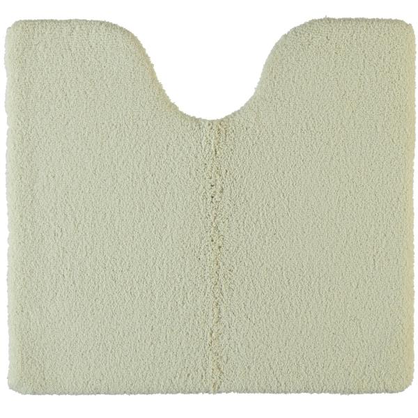 Rhomtuft - Badteppiche Square - Farbe: beige - 42 Toilettenvorlage mit Ausschnitt 55x60 cm