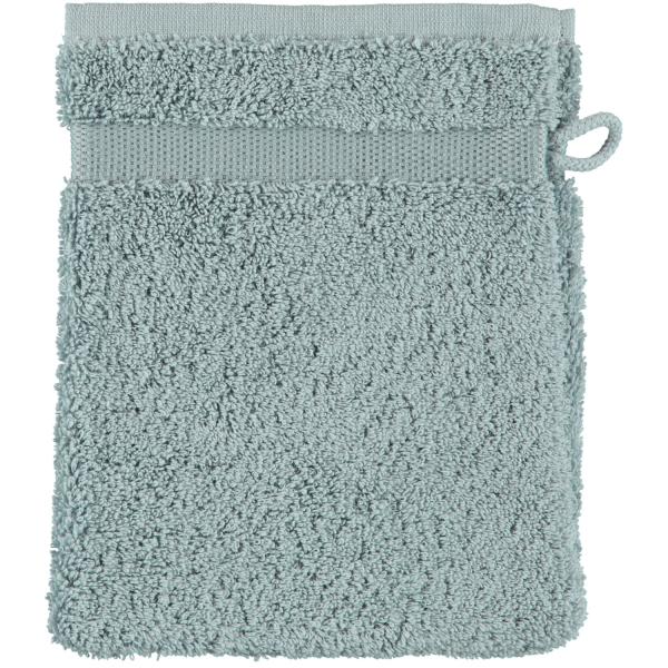 Rhomtuft - Handtücher Princess - Farbe: aquamarin - 400 Waschhandschuh 16x22 cm