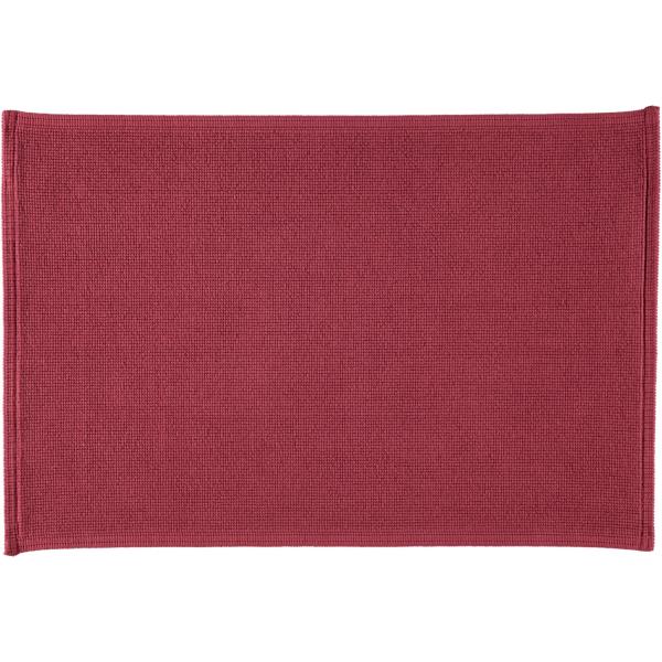Rhomtuft - Badteppiche Plain - Farbe: marsala - 391 60x90 cm