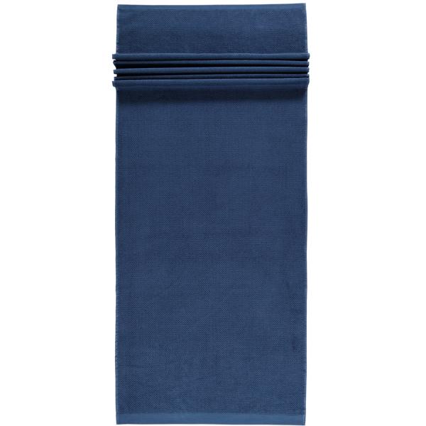Rhomtuft - Handtücher Baronesse - Farbe: kobalt - 84 Saunatuch 70x190 cm