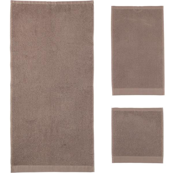 Rhomtuft - Handtücher Baronesse - Farbe: taupe - 58