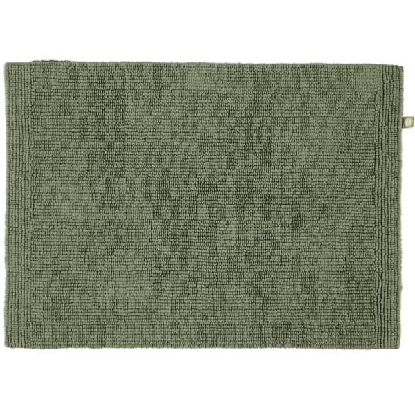 Rhomtuft - Badteppich Pur - Farbe: olive - 404 50x75 cm