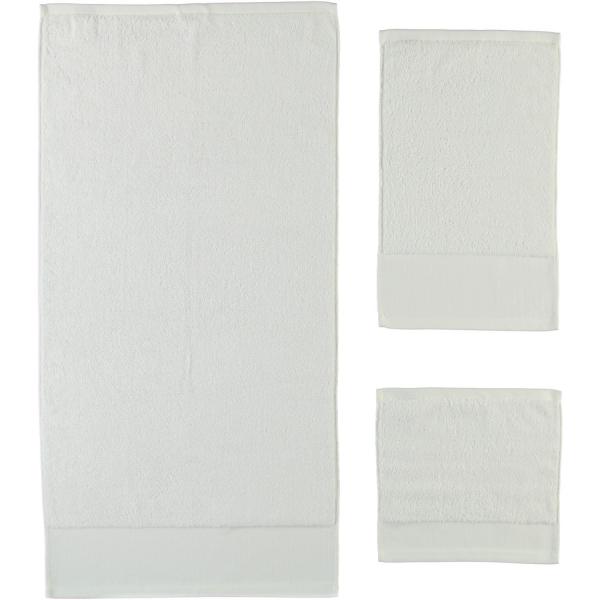 Rhomtuft - Handtücher Comtesse - Farbe: weiss - 01