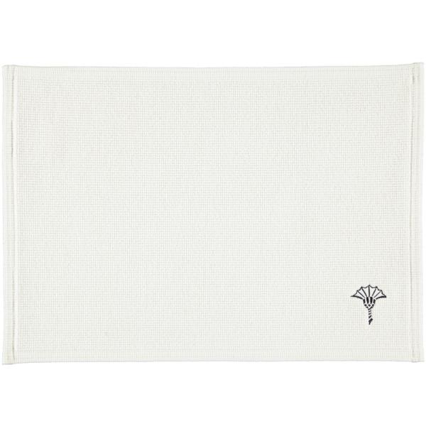 JOOP! Badematte Cornflower Single 55 - Farbe: Weiß - 001 50x70 cm