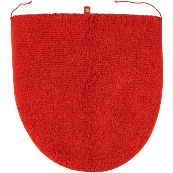 Rhomtuft - Badteppiche Prestige - Farbe: mango - 378 Deckelbezug 45x50 cm