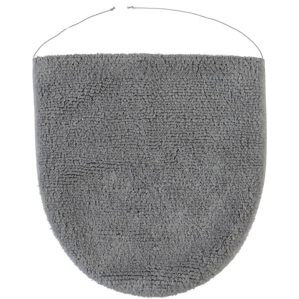 Rhomtuft - Badteppiche Prestige - Farbe: kiesel - 85 Deckelbezug 45x50 cm