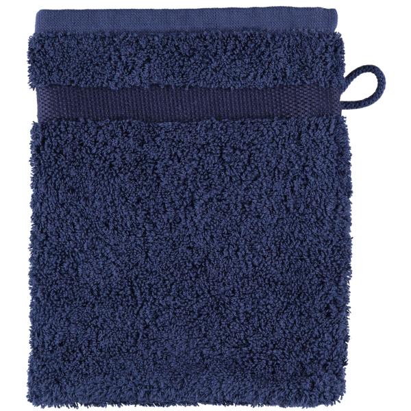 Rhomtuft - Handtücher Princess - Farbe: kobalt - 84 Waschhandschuh 16x22 cm