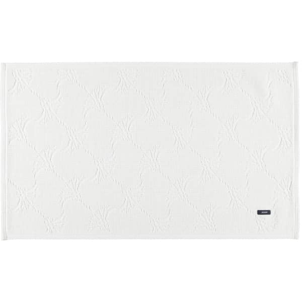 JOOP! - Badteppich New Cornflower 60 - Farbe: Weiß - 001 70x120 cm