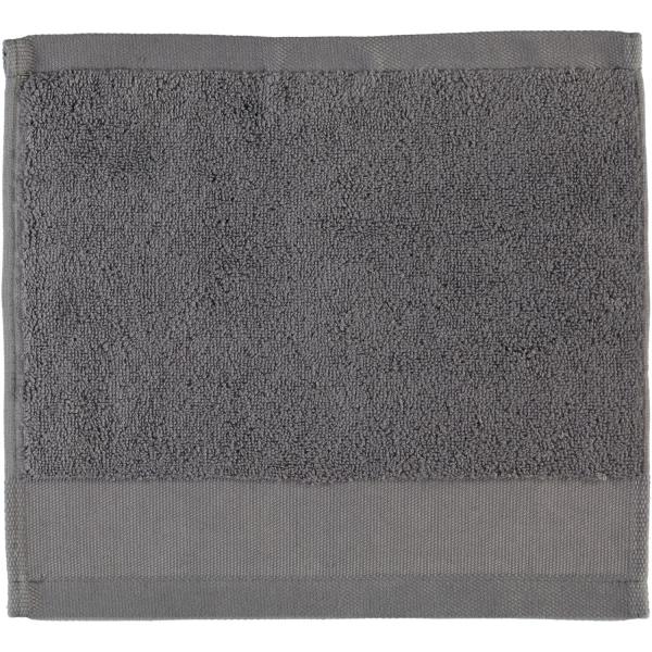 Rhomtuft - Handtücher Comtesse - Farbe: zinn - 02 Seiflappen 30x30 cm