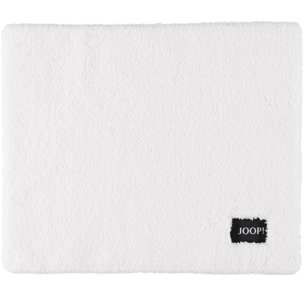JOOP! Badteppich Basic 11 - Farbe: Weiß - 001 50x60 cm