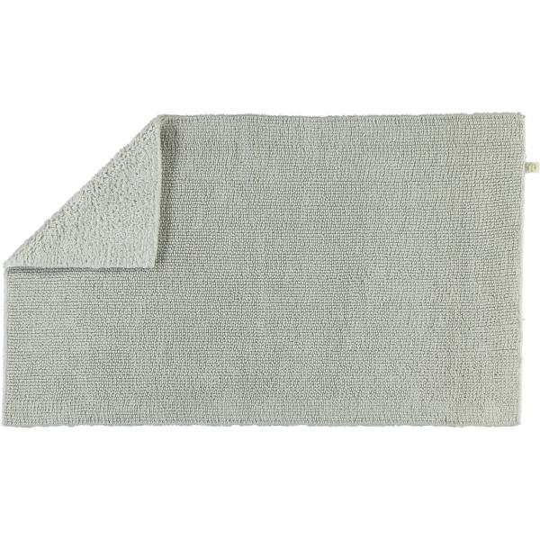 Rhomtuft - Badteppich Pur - Farbe: perlgrau - 11 50x75 cm