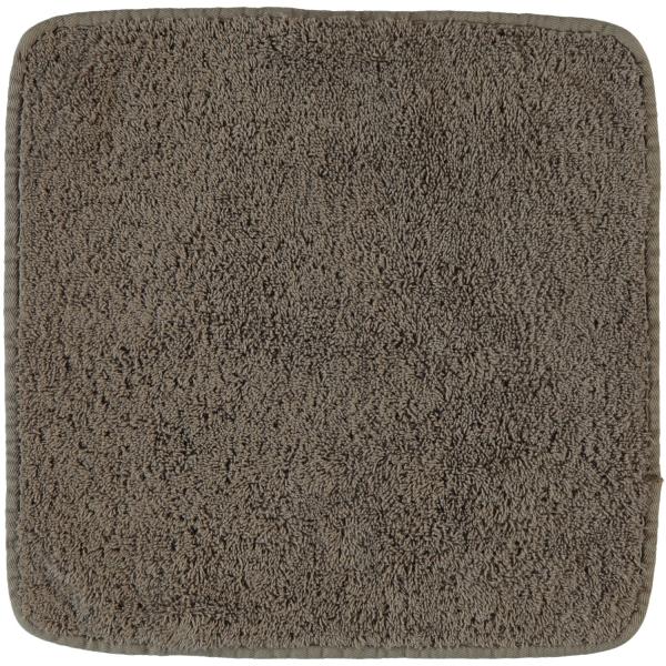 Rhomtuft - Handtücher Loft - Farbe: taupe - 58 Seiflappen 30x30 cm