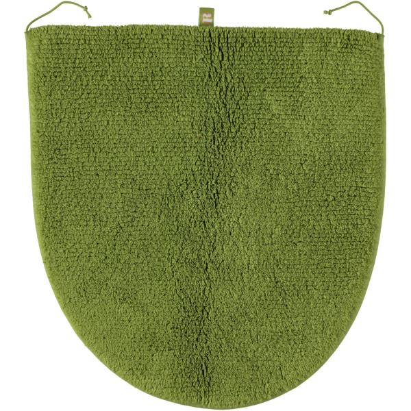 Rhomtuft - Badteppiche Prestige - Farbe: lind - 12 Deckelbezug 45x50 cm