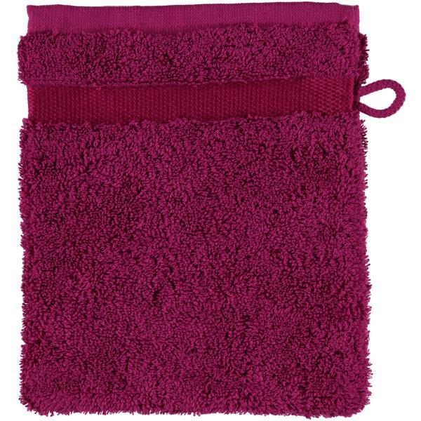 Rhomtuft - Handtücher Princess - Farbe: himbeer - 303 Waschhandschuh 16x22 cm