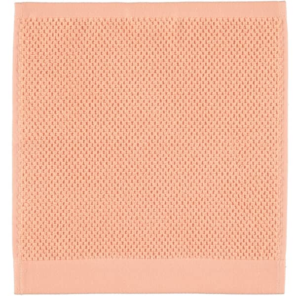 Rhomtuft - Handtücher Baronesse - Farbe: peach - 405 Seiflappen 30x30 cm
