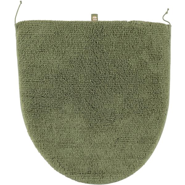 Rhomtuft - Badteppiche Prestige - Farbe: olive - 404 Deckelbezug 45x50 cm
